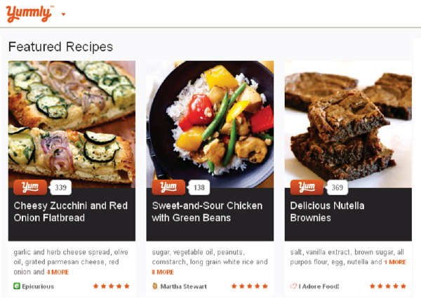 Meal planner pro nutrition scoring how our users personal recipe score would be projected onto yummlys recipe search results as you see it is very unobtrusive and provides our users with forumfinder Gallery