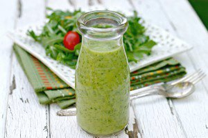 Creamy Avocado Citrus Salad Dressing - No Cream, No Oil!