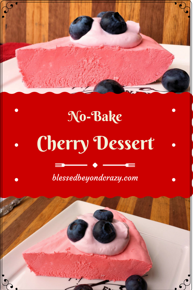 No-Bake Cherry Dessert