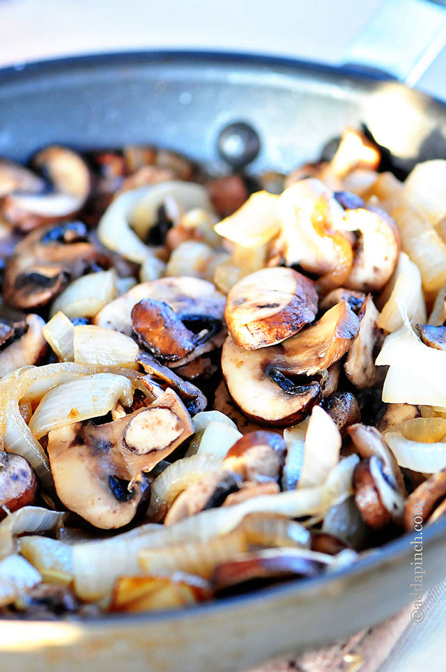 Mushroom and Onion Saute Recipe