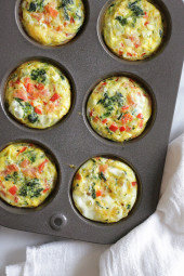 Loaded Baked Omelet Muffins
