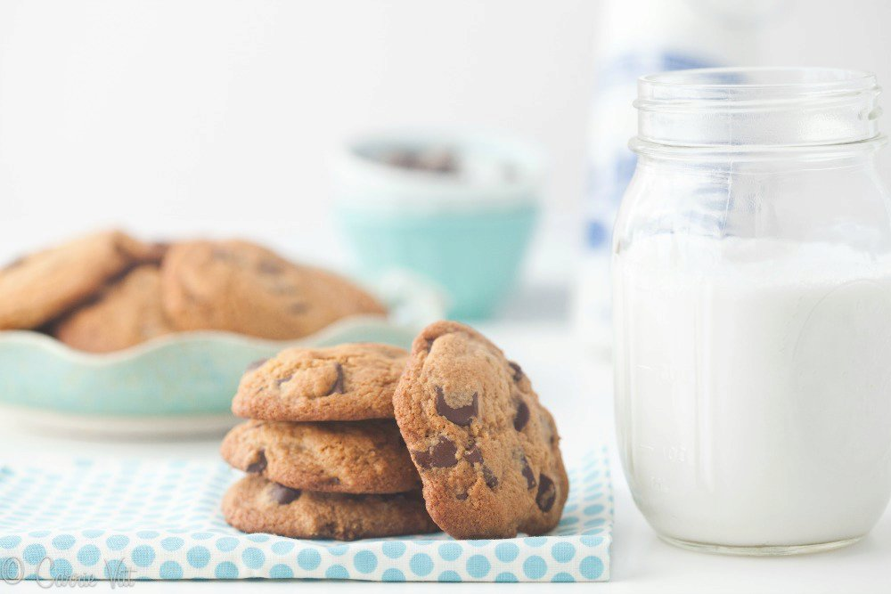 The Perfect Nut-Free, Dairy-Free, Grain-Free Chocolate Chip Cookies