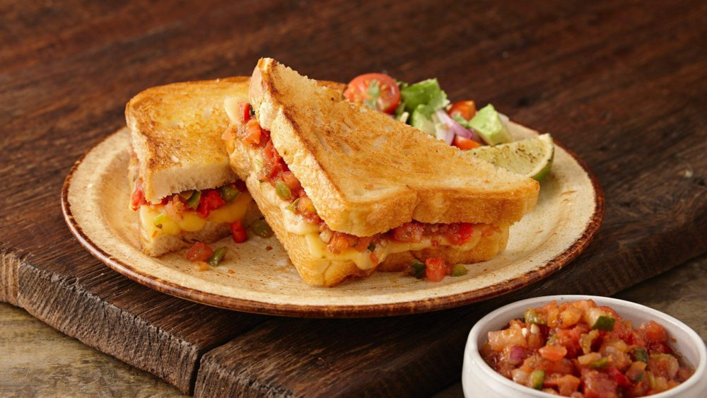 Spicy Southwest Grilled Cheese