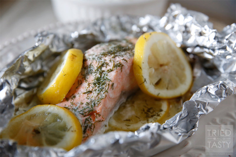 Quick & Easy Grilled Salmon