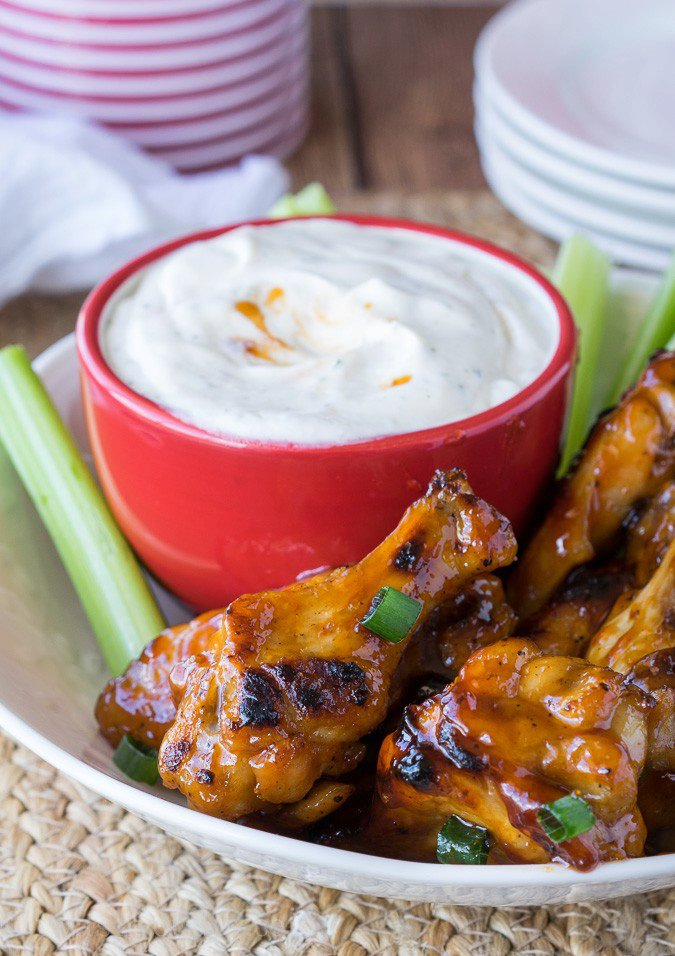 Easy Baked Honey BBQ Wings
