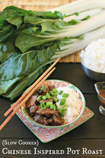 Chinese Inspired Pot Roast {Slow Cooker}