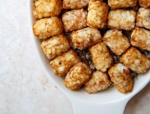 Dinner for Two: Tater Tot Casserole!