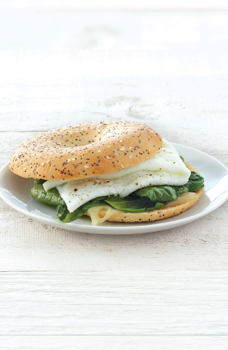 Egg White & Spinach Sandwich