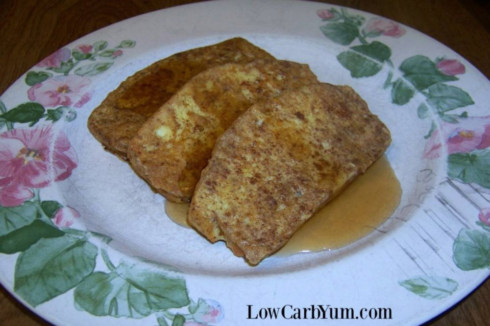 Low Carb French Toast with Cinnamon