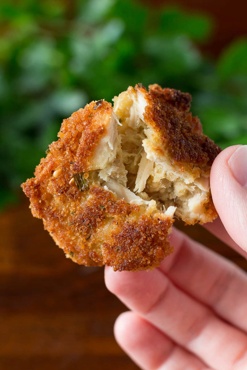 Tuna Cakes with Just Four Ingredients!