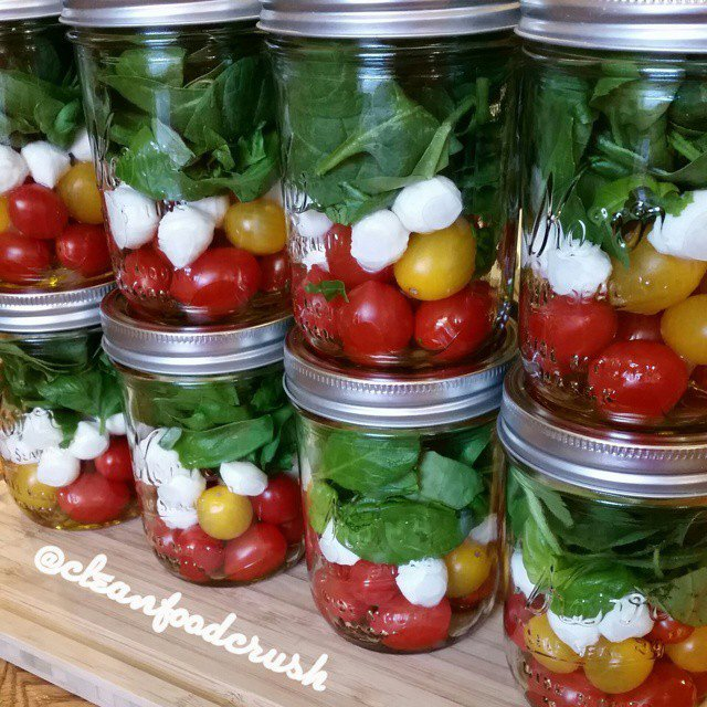 Grab & GO Caprese Salad IN-A-JAR