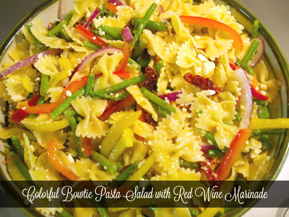 Colorful Bowtie Pasta Salad