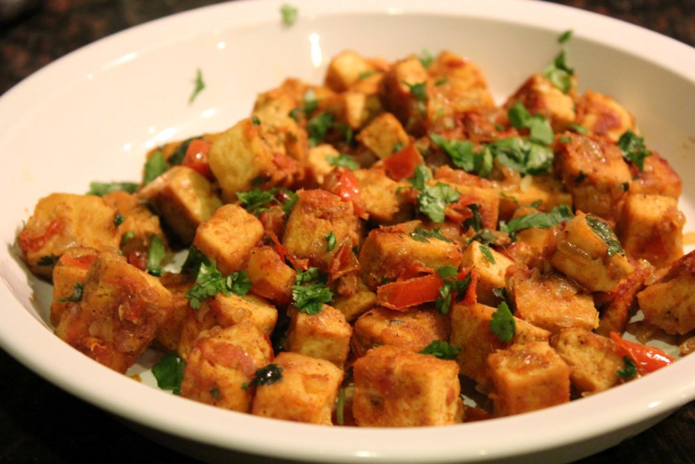 Indian Curried Tofu