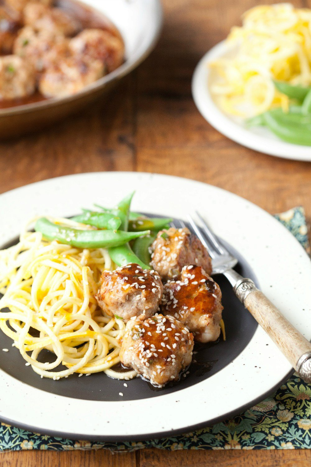 Sweet and Sour Meatballs (Grain-Free, Paleo)