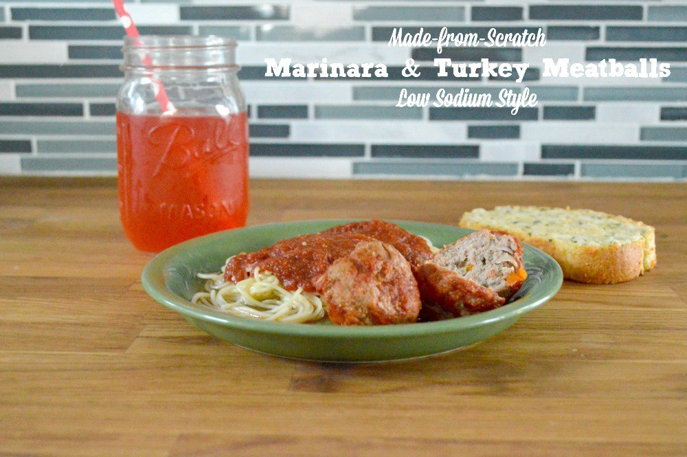 Truly Homemade Marinara Sauce Homemade Turkey Meatballs (with a cheat)