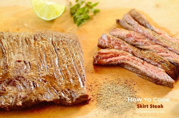 How to Cook Skirt Steak (4 Steps)