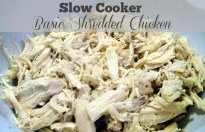 Freezer Meal Starter: Slow Cooker Basic Shredded Chicken Filling