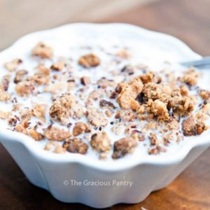 Clean Eating Grape Nuts Cereal Recipe