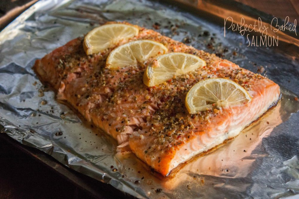 Perfectly Baked Salmon {& eCookBook News!}