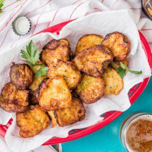 Ranch Fried Pickles
