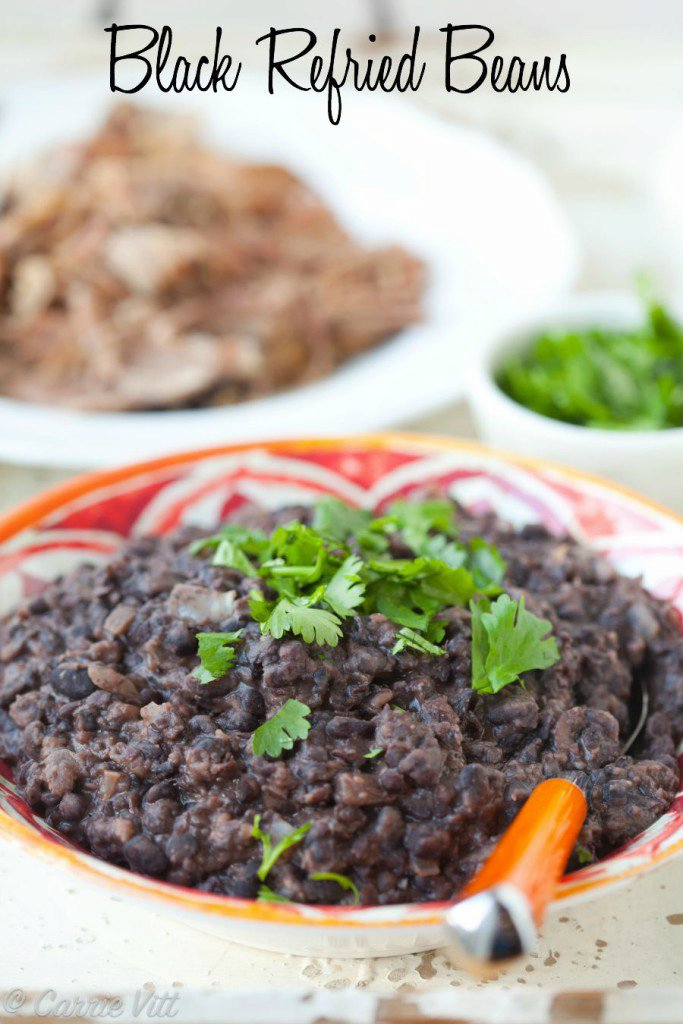 Black Refried Beans