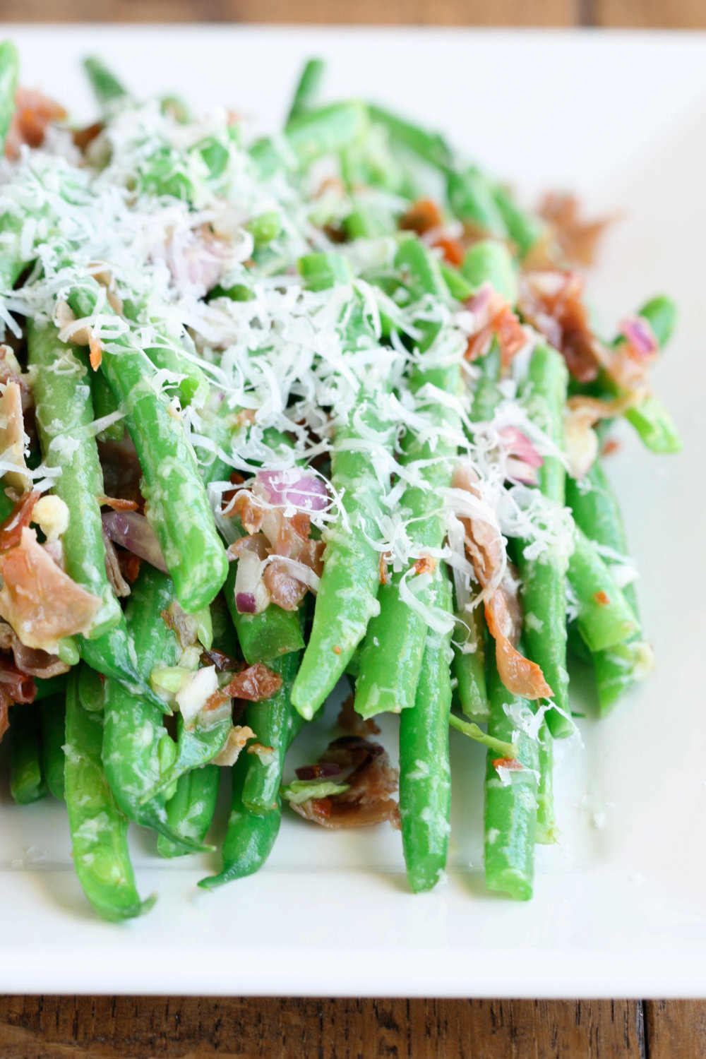 Green Beans with Prosciutto