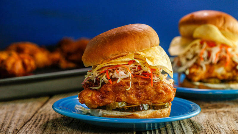 Beer Battered Cod Sandwiches