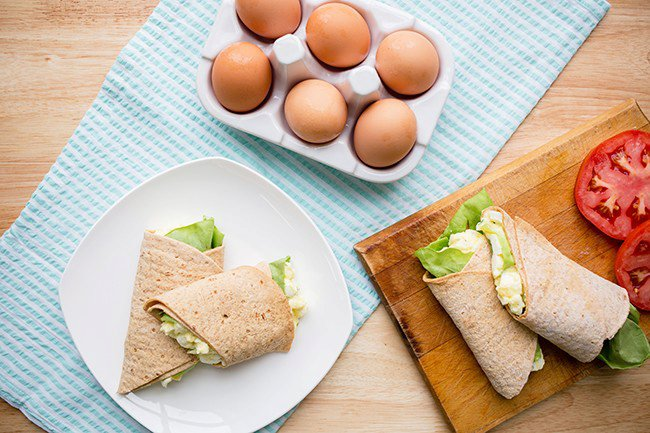 Recipe: Light Egg Salad