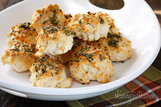 Easy Rosemary Garlic Parmesan Biscuits