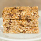 Chewy Peanut Butter-Chocolate Chip Granola Bars
