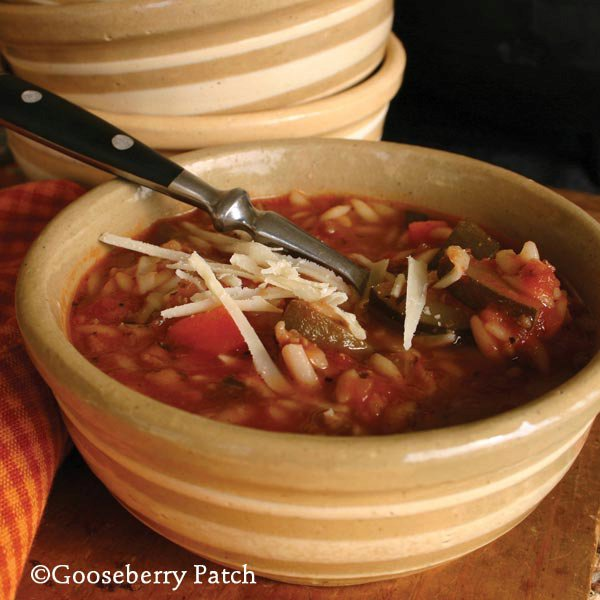 Italian Sausage & Vegetable Soup