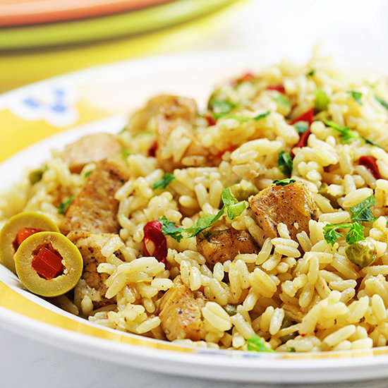 Instant Pot Chicken Breast and Rice (Spanish Style)