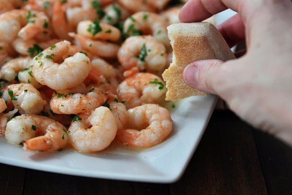 Family Style Shrimp Scampi {20-Minute Meal}