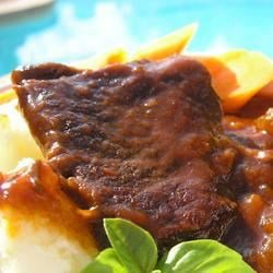 Barbeque Style Braised Short Ribs