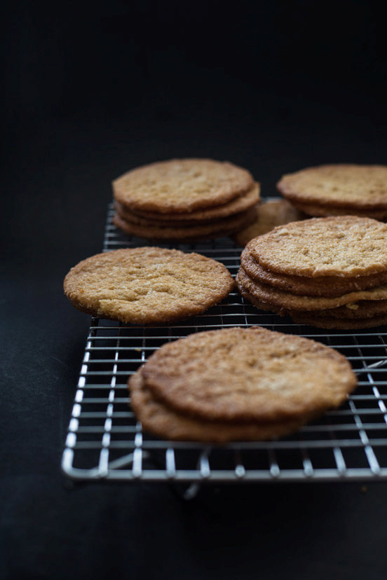 Thin & Crispy Coconut Cookies