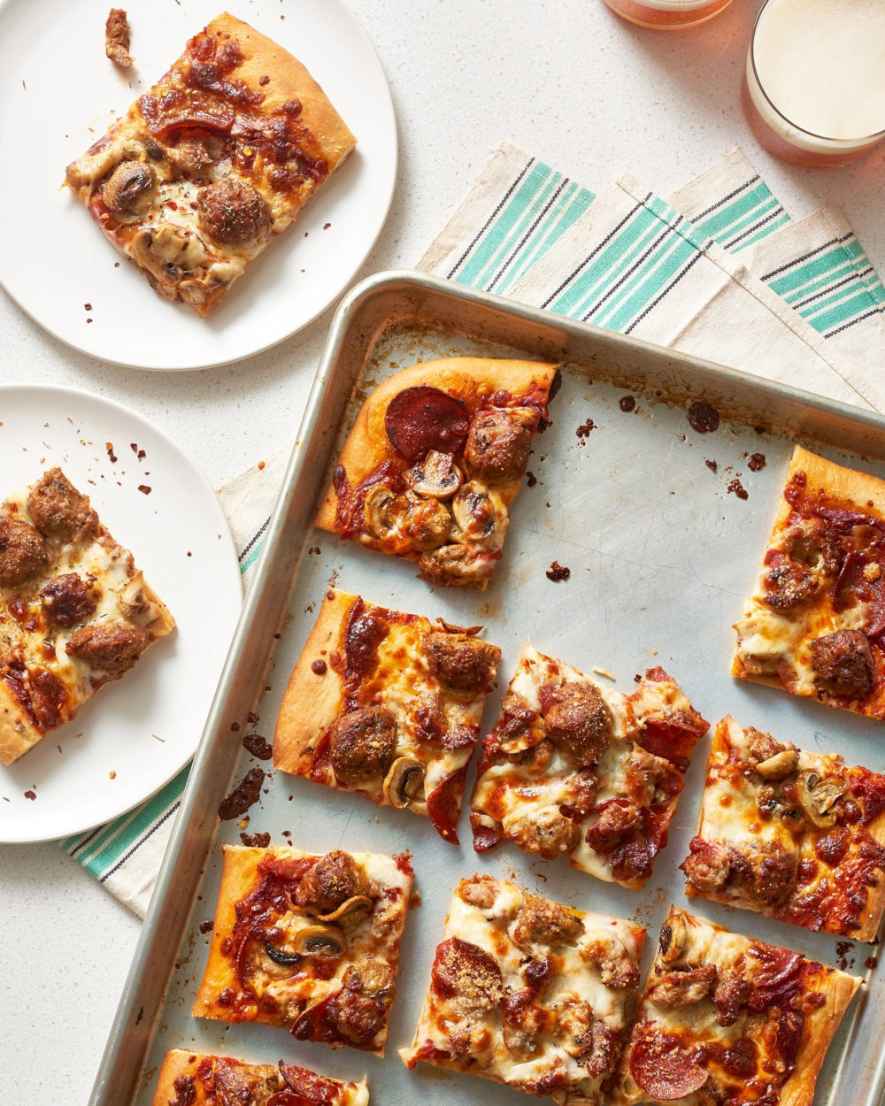 How To Make Classic Sheet Pan Pizza