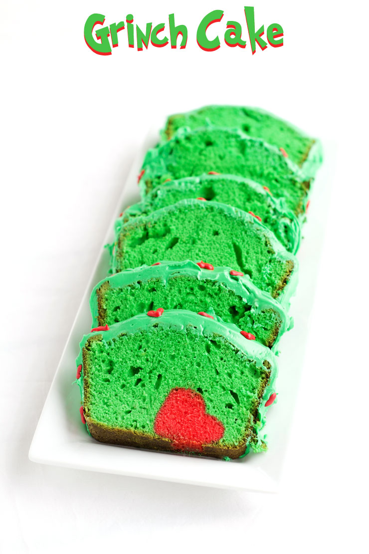Grinch Cake for Christmas