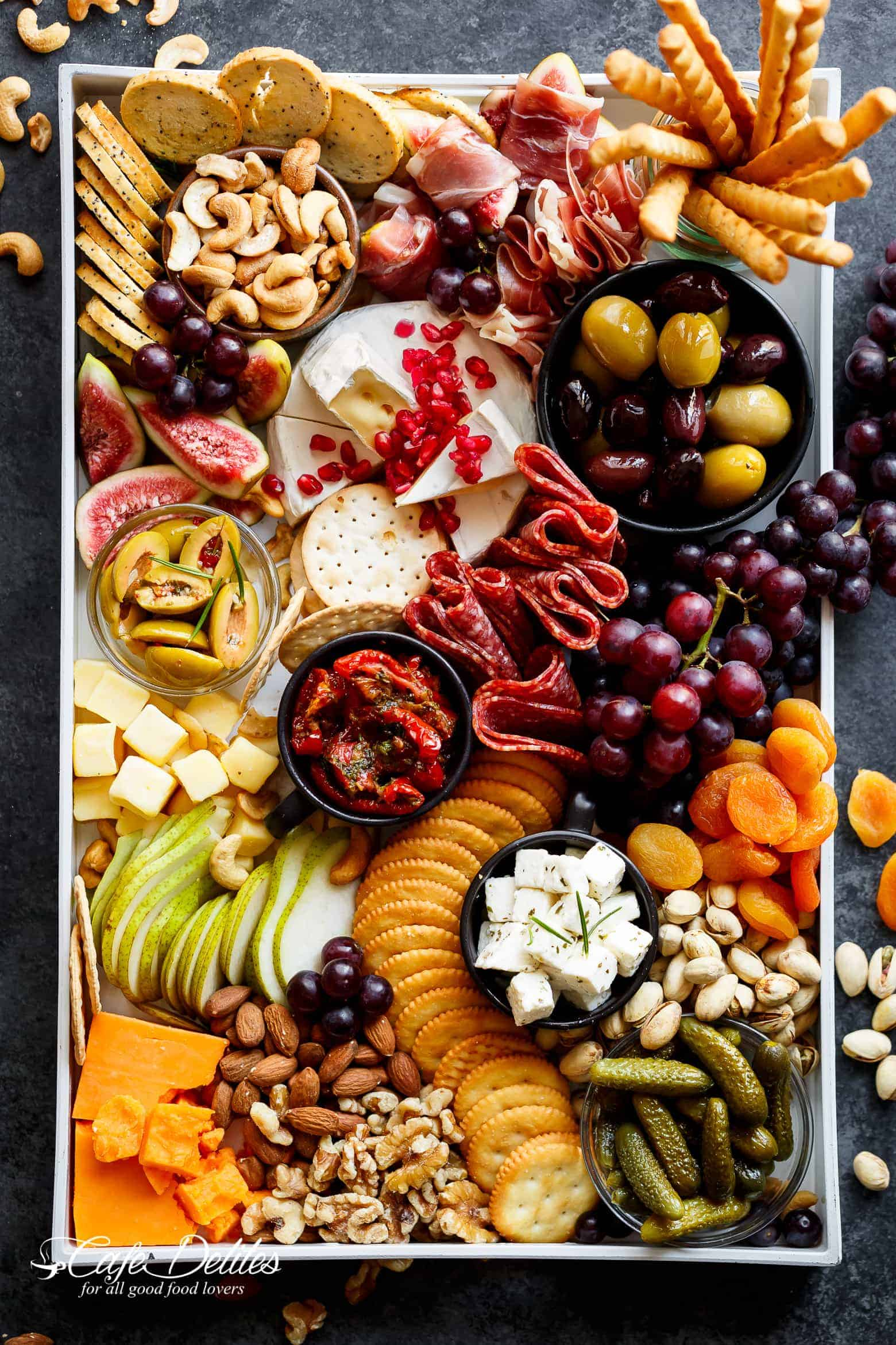 A Loaded Thanksgiving Cheeseboard