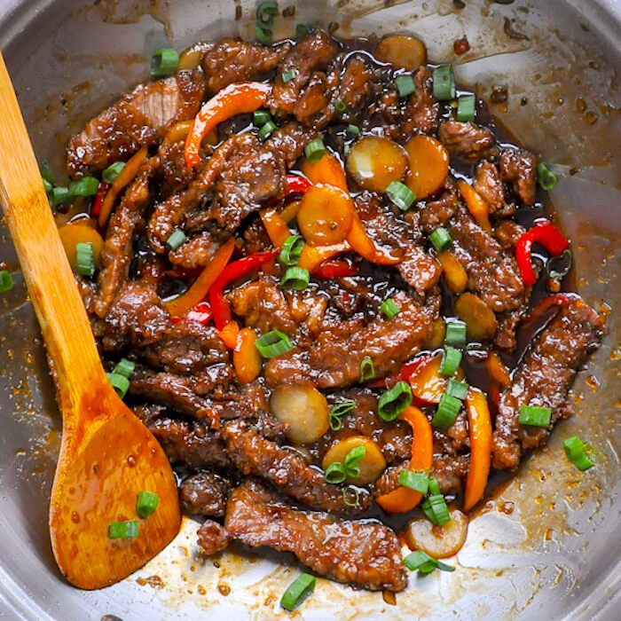 Mongolian Beef - a quick and easy recipe.