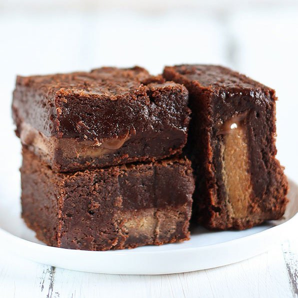 The Best Peanut Butter Brownies