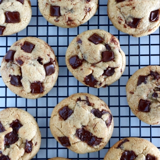 Super Soft American Chocolate Chip Cookies