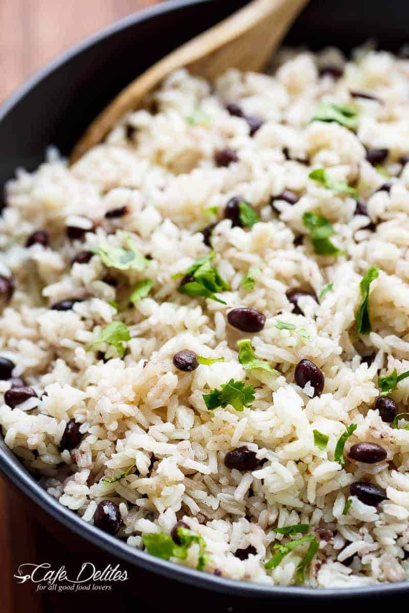 Black Beans & Rice Recipe