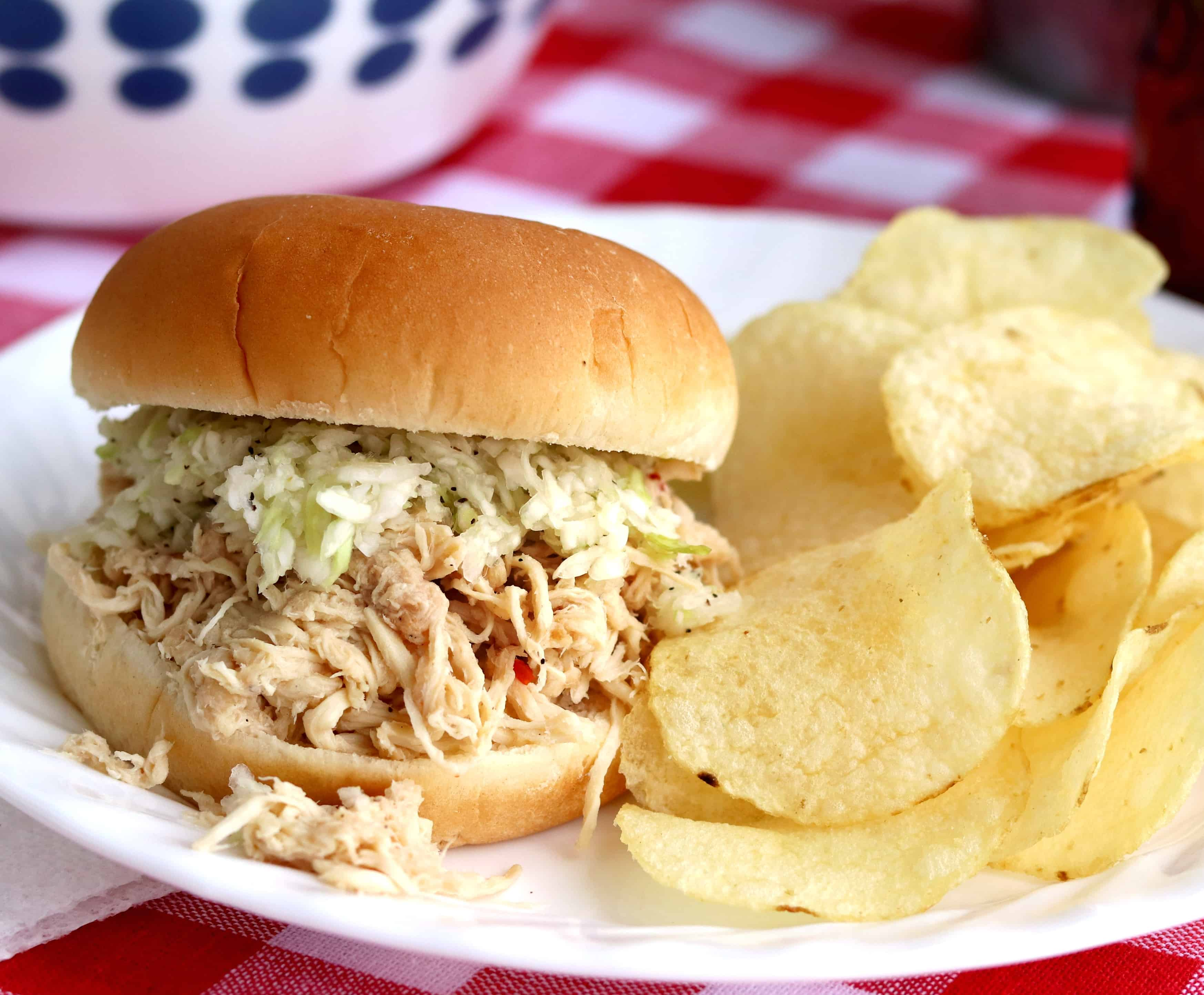 North Alabama Style Pulled Chicken BBQ - And Bringing Grace to a World of Animosity