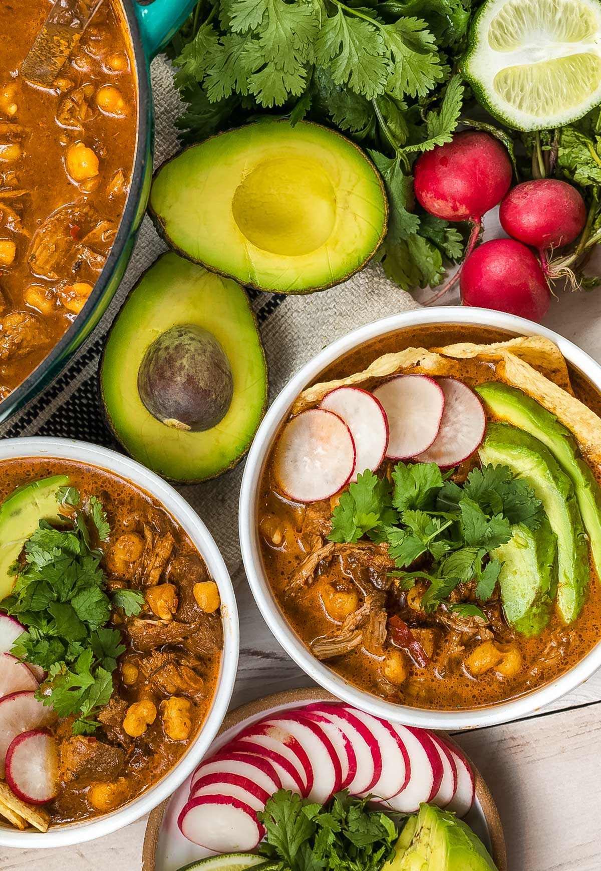 Red Posole Recipe with Pork (Pozole Rojo)