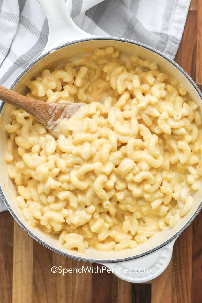 Extra Creamy Stovetop Macaroni and Cheese