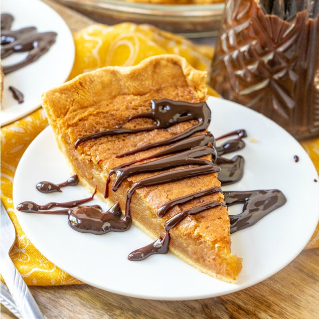 Old Fashioned Baked Peanut Butter Pie