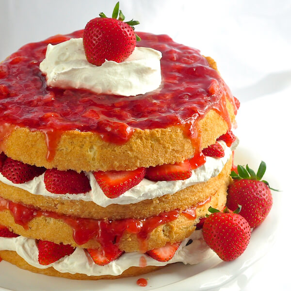The Ultimate Strawberries and Cream Cake