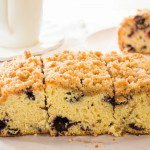 Blueberry Buckle Crumble Cake
