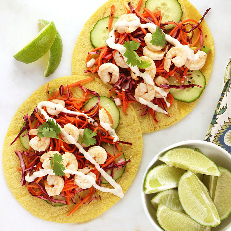 Fresh and Spicy Shrimp Tacos