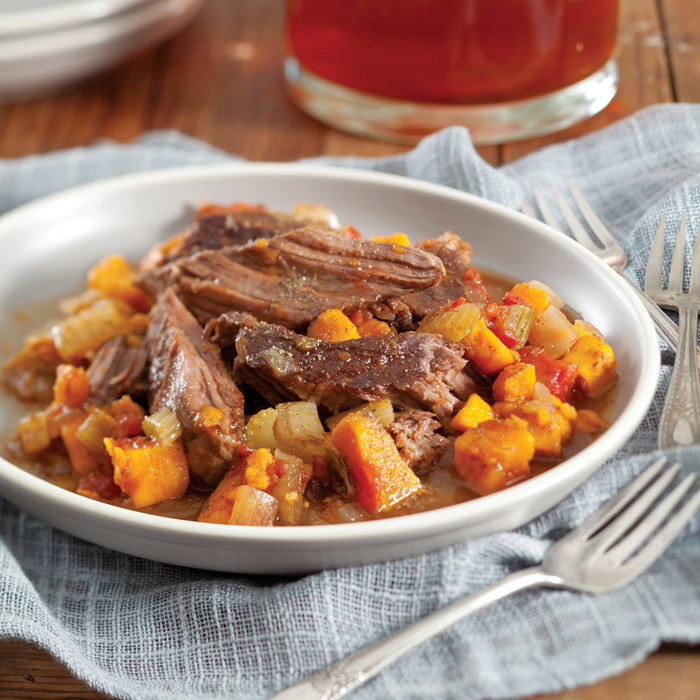 Pot Roast with Sweet Potatoes